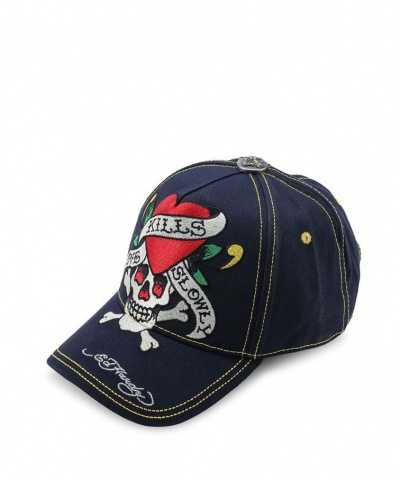 Skull Embroidery Cap